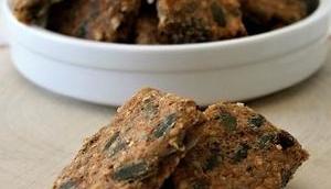 Crackers graines sans gluten, lait, œufs
