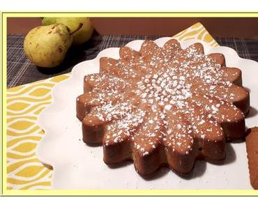 Gâteau poires spéculoos
