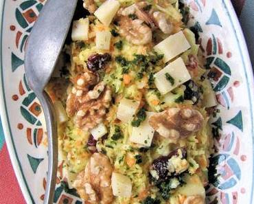 Coleslaw aux noix & canneberges