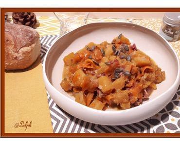 Poêlée de Butternut, carotte au cumin avec ou sans le cookéo
