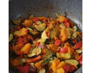 Poêlée de légumes au potiron