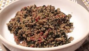 Quinoa épinards