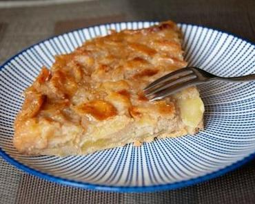 Sans œufs ? – Gâteau aux pommes caramélisé au rhum