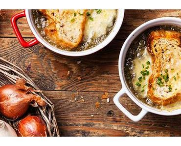 Véritable soupe à l'oignon