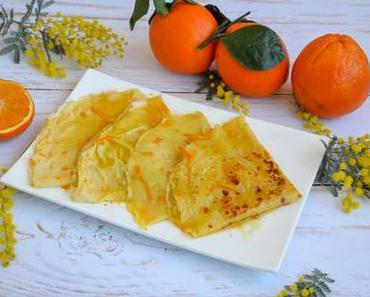 Crêpes Suzette à l'orange