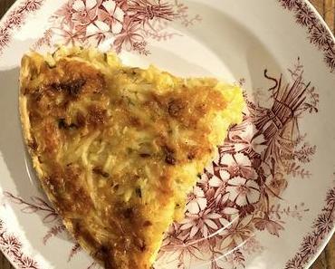 tarte au cheddar et pommes de terre