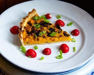Pumpkin pie – Tarte salée à la courge