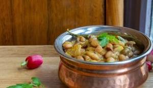 Pinto beans Curry indien haricots