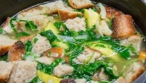 pain légumes Pancotto pommes terre