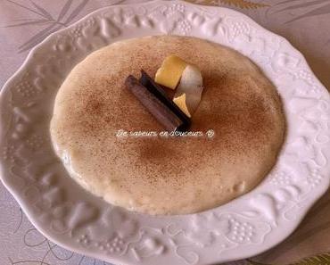 Arroz con leche (riz au lait à l'espagnole)