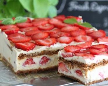 Ch'tiramisu fraises-spéculoos et chicorée