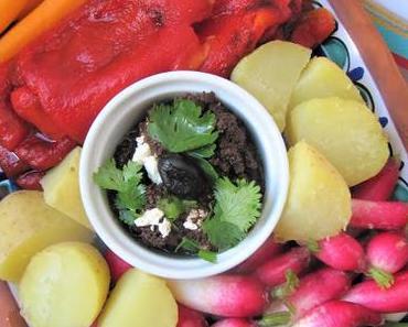 Légumes frais & crème d'olive