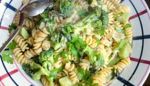 pâtes weekend Creamy brocoli pasta