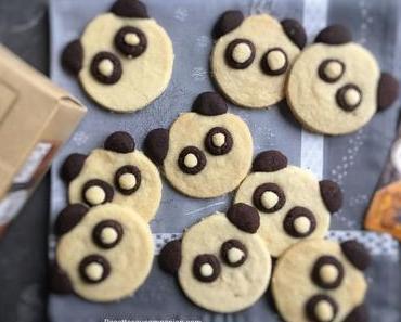 Biscuits panda vanille chocolat au companion thermomix ou sans robot
