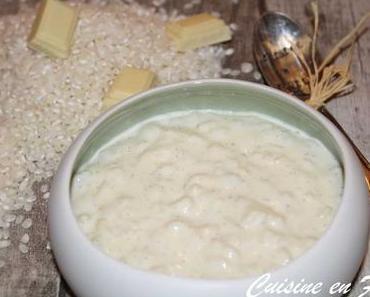 Riz au lait de Christophe Michalak
