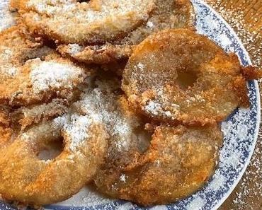 beignets aux pommes ou beignets de pommes