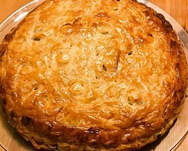 Ma galette aux pommes et au pralin