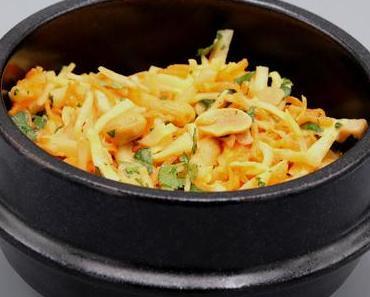 Entre coleslaw et salade thaïe