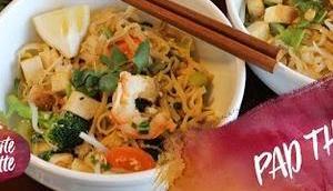 Recette MAO, nouilles thai