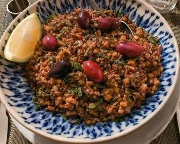 Plusieurs versions – Lentilles et riz (Fakorizo)