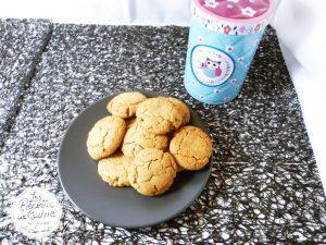Cookies moelleux beurre cacahuètes