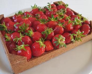 Cagette de fraises
