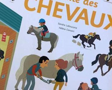 Gros plan sur LE GRAND LIVRE ANIME DES CHEVAUX: Editions TOURBILLON