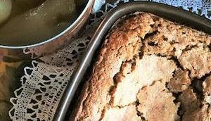 Gâteau moelleux noix