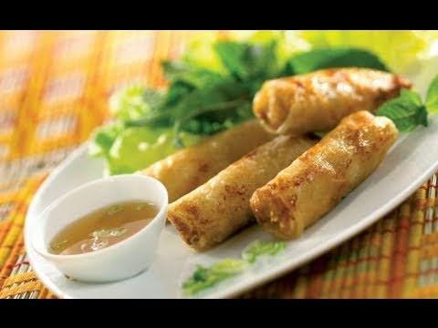 Recette des nems vietnamiens au crabe et aux crevettes