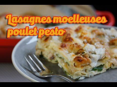 Recette facile des lasagnes moelleuses poulet ricotta